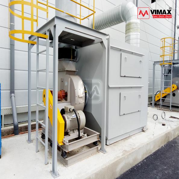 hệ thống xử lý khí sơn nước