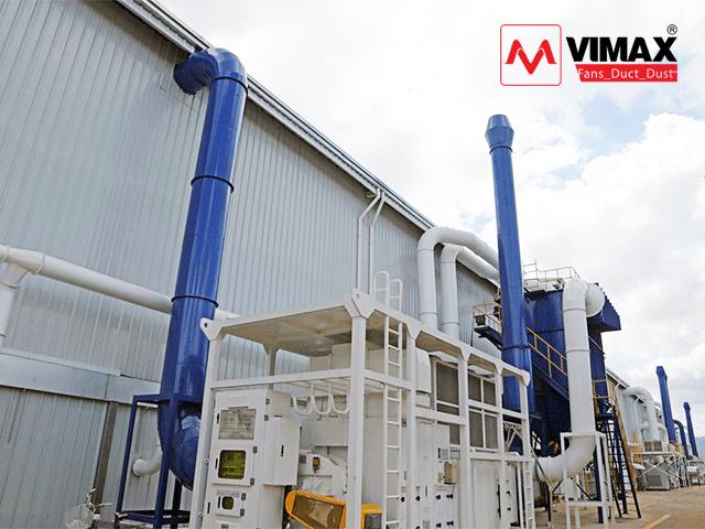 Lắp đặt Hệ thống hút khói bụi nhà máy chế biến thực phẩm